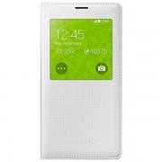 Husa tip S-View Samsung pentru Galaxy S5 SM-G900, EF-CG900BHEGWW - Pattern White