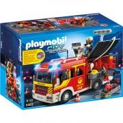 City Action - Brandweer pompwagen met licht en sir
