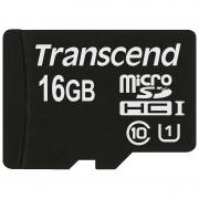 Cartão de Memória MicroSDHC Transcend TS16GUSDCU1 Premium 300x - 16GB