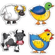 Creativo educativo Early Years Farm Animals Puzzle