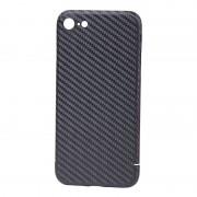 Husa Premium de Carbon NEVOX pentru Apple iPhone 7, Black