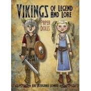 Vikings of Legend and Lore Paper Dolls by Kiri Leonard