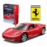 Bburago model auto Ferrari 458 Italie rood
