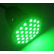Spot cu 30x5050-SC,verde, E27