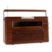Ricatech PR390 Wood Radio AUX FM CD