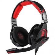 Casti Casti Gaming Thermaltake Tt eSPORTS CRONOS, Jack 3.5 mm / USB, Negru - Rosu