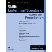 Skillful Listening and Speaking Teacher's Book + Digibook + Audio CD Foundation Level by Dorothy E. Zemach