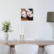 Foto op aluminium - geborsteld (30x30cm)