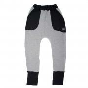 Pantaloni lungi Boots Fleece - gri, 6-8 ani