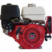 Honda Engines Horizontal OHV Engine with Electric Start (389cc, GX Series, 3 31/64 Inch Shaft, Model: GX390UT2QAE2)