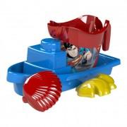 Superman hajós homokozó készlet, 4 részes