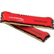 Kingston - HX324C11SRK2/16 - 16384 MB - DDR3 - 2400 MHz - 11 ns - Nou