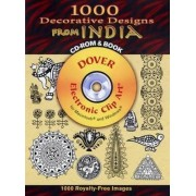 1000 Decorative Designs from India CD-ROM and Book by Devi Thapa