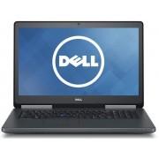 """Laptop Dell Precision 17 7710 (Procesor Intel® Xeon® E3-1535M v5 (8M Cache, 2.90 GHz), Skylake, 17.3""""UHD, 32GB, 512GB SSD, nVidia Quadro M4000M@4GB, Tastatura iluminata, Wireless AC, Win7 Pro 64)"""