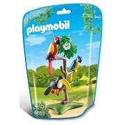 Playmobil - Loros y tucán en el árbol (6653)