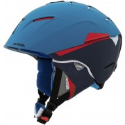Alpina Cheos Kask czerwony/niebieski Kaski narciarskie