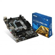 MSI Intel h110 m Pro VH skylake Carte mère Micro ATX