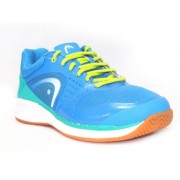 Head SPRINT PRO INDOOR Squash Shoes(Blue)