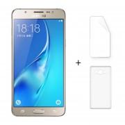 """Samsung J7108 3 + 16GB Galaxy J7 (2016) Android 5.1 Dual Sim 5.5 """"FHD 4G LTE 5 + 13MP Oro + Protector De Pantalla + Estuche"""