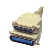 Valueline CABLE-111 LPT D-Sub DB25 dugó - Centronics 36p dugó nyomtató összekötő kábel 3m