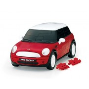 64 piece Kapazuru 3D Mini Cooper / Red