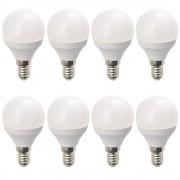 Set 8 Becuri LED Drimus 6W E14 Lumina Calda DL 3064