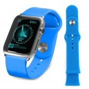 Pulseira de Silicone Tuff-Luv para Apple Watch - 38mm - Azul