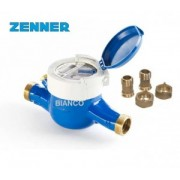 Apometru apa rece cu role protejate 11/4 DN32 Zenner MNK-RP