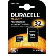 Kit Duracell 32GB microSDHC UHS-I (DRMK32pe)