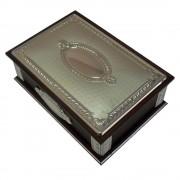 Joyero madera plata [4313]