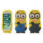 Аpple iPhone 7 (силиконов калъф) 'Minion style'