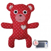 Heatable & Huggable Dottie Bear