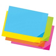 Colorwave Super Bright Tagboard, 12 x 18, Assorted Colors, 100 Sheets/Pack