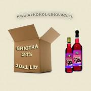 Kartón - Griotka 10x1L 24%