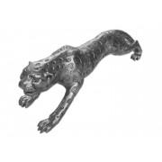- Statue design grise animal guépard - Guepard