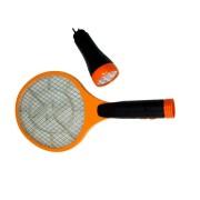 Plici de muște electric cu încărcător + lanternă - 2 în 1