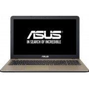 "Laptop ASUS X540SA, Intel Celeron N3060, 15.6"" HD, 4GB, 500GB, FreeDos, Chocolate Black"
