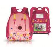 Nikon CS-L06 Mochila para cámara Coolpix S30, rosa