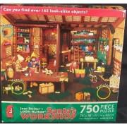 Joan Steiners Santas WORKSHOP Puzzle