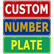 """Custom Novelty Number Plate"""