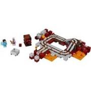 LEGO 21130 LEGO Minecraft Järnvägen i The Nether