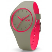 Ice-Watch DUO IW001497 Khaki Pink Unisex horloge
