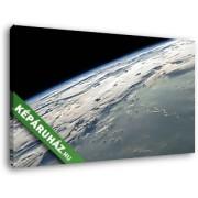 A Föld a világűrből nézve (40x25 cm, Vászonkép )