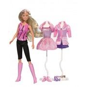 Simba Toys 105733450 - Steffi Love, Bambola Chic Selection, assortite