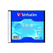 CD-R carcasa slim VERBATIM Extra Protection