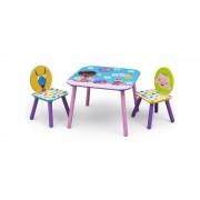 Delta Children Set masuta si 2 scaunele Disney Doctorita Plusica