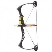 Maxxforce Toy Compound Bow - Black - NXT-CBT