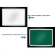 2 in 1 White Board for Marker Slate Writing