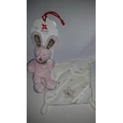 Doudou Mouchoir Blanc Lapin Simba Toys Benelux Nicotoy Rose Marron Étoile Kiabi Soft Toys Blankie Comforter Teddy Bear Eveil Bebe Naissance Enfant