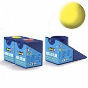Revell Acrylics (Aqua) - 18ml - Aqua Yellow Matt - RV36115